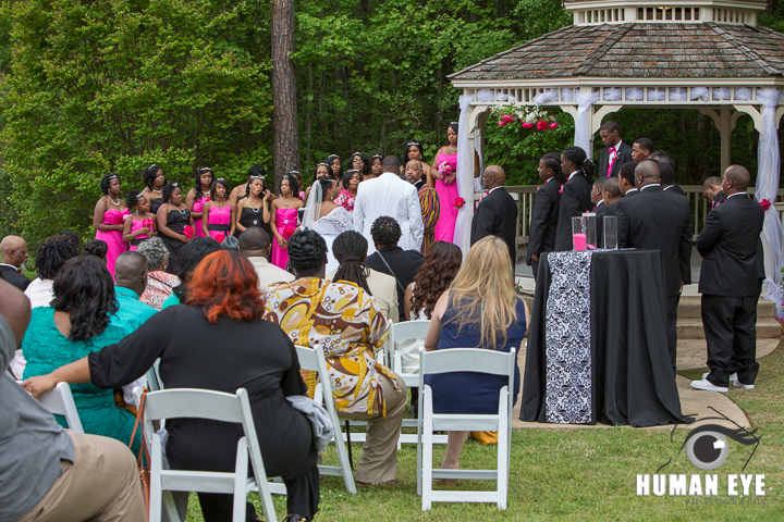 Wedding under the Gazebo