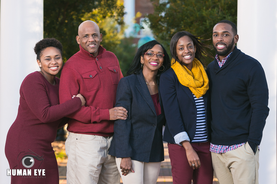 Family Session at Winthrop University