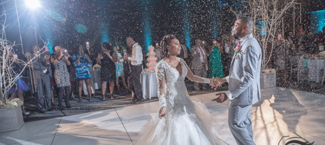 Winter Wonderland Wedding | Columbia Metropolitan Convention Center