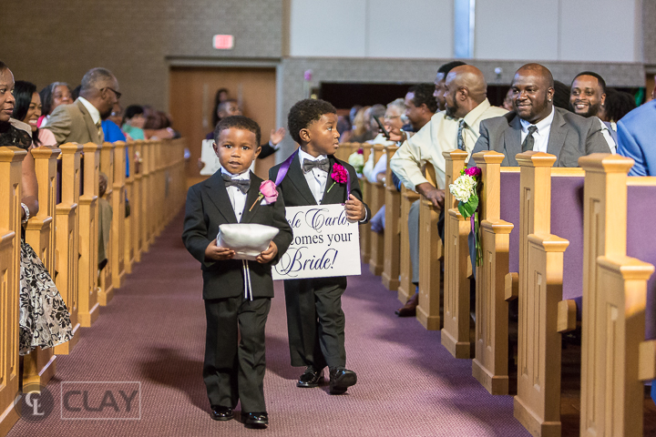 First Calvary Baptist Church ring bearer