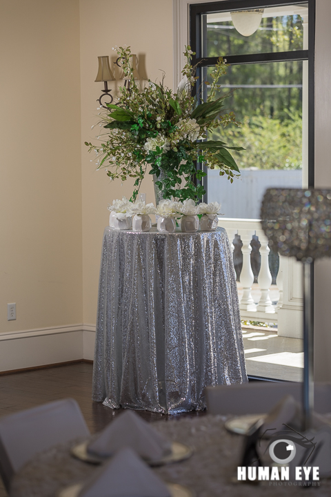 Palmetto Place Event Center decor
