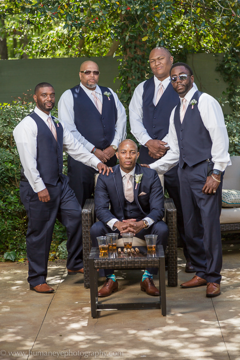 The River Road and Jasmine Houses groomsmen