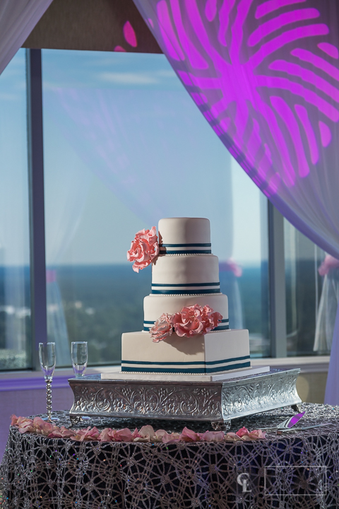 Capital City Club Wedding Details - Cake