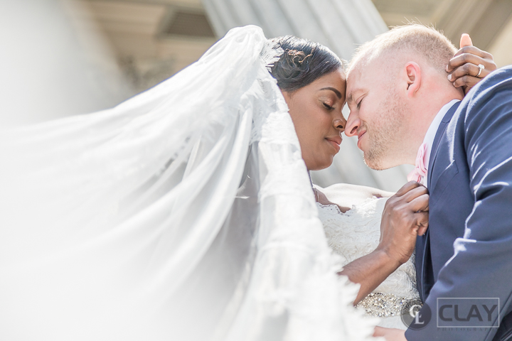 Statehouse Wedding Portraits