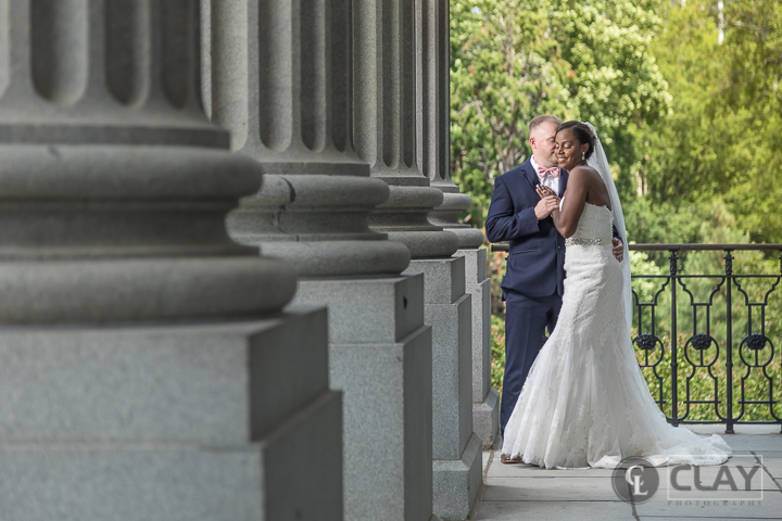 Capital City Club Columbia SC - Wedding Portraits