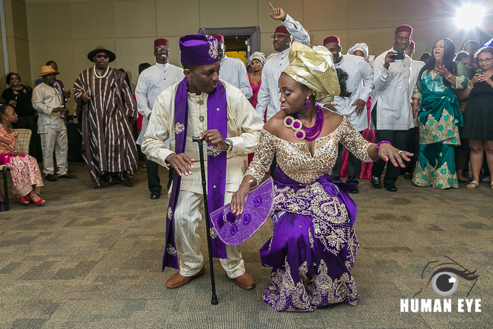 Nigerian Bride and Groom